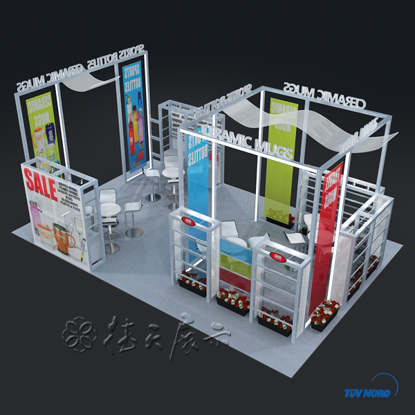 Exhibition Stand Weight : Light weight aluminum structure stand sales high quality