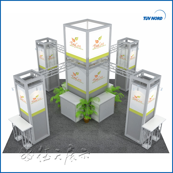 Exhibition Booth Panel Size : Round panel structural exhibition booth sales high