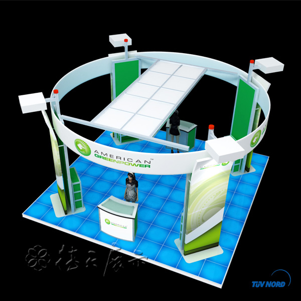 Exhibition Stand Circle : Modular wood structure booth sales high quality china