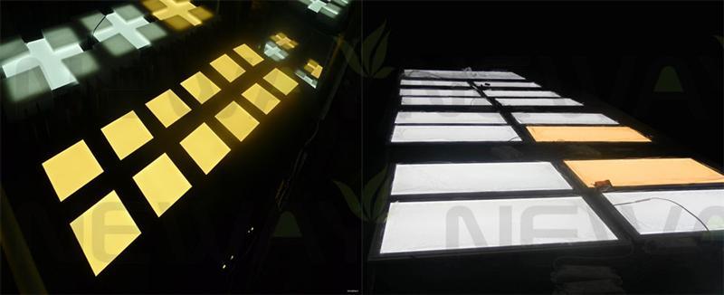36W 600x600 Dimmable LED Flat Panel Quality Inspection