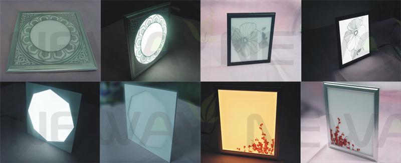 60W Ultra Thin LED Flat-Panel 595x595MM Surface Technology