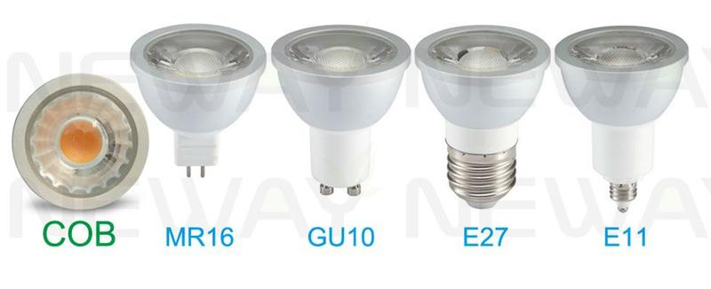 mr16 6w led light bulb dimmable cob pictures
