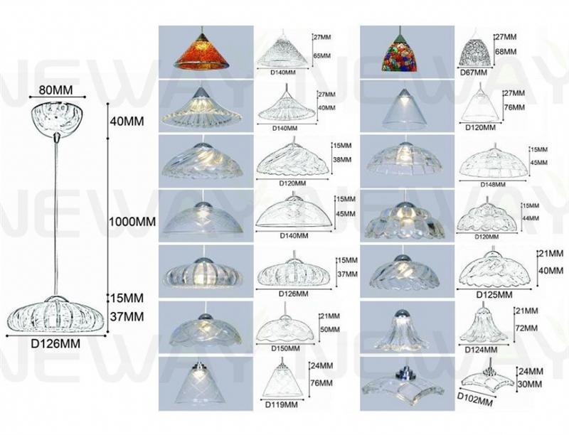 1W Mini Restaurant Pendant LED Chandelier 07Pendant LED