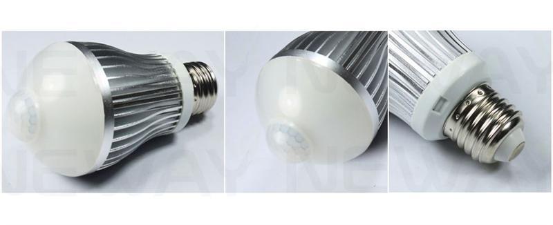 Pir Movement Sensor Led Light Bulb 5 5w 5w 7 5w 5 5w Pir