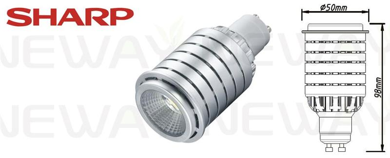 10w Brightest Gu10 Led Ceiling Spotlight Bulb Sharp Cob