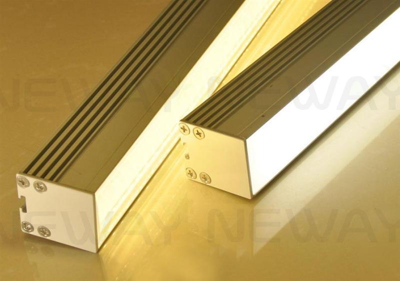 modern architectural linear suspension led luminaire light 100cm 120cm 100cm modern linear. Black Bedroom Furniture Sets. Home Design Ideas