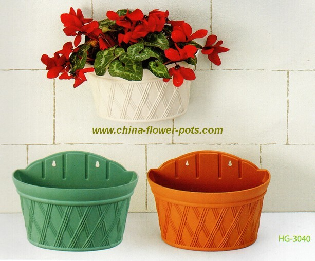 Wall Hanging Flower Pots china-flower-pots--plastic flower pot, plastic planter factory