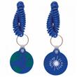 Coil keychain/plastic coil keychain