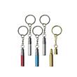 Aluminium keychain /keychain with whistle