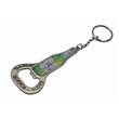 Alloy bottle opener with keychain