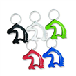 Bottle opener with keychain