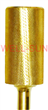 Large Barrel Extra Fine Carbide Bit Gold