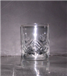 Engraved Glass Cup