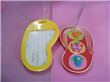 PVC luggage tag with Slipper Shape