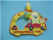 Soft PVC luggage tag for Children