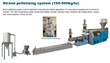 Double Stages Pelletizing Machine