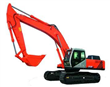 Big Hydraulic Crawler Excavator