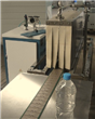 Semiautomatic Shrink Labeling Machine
