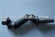 Bent crankshaft hot forging product for engine or