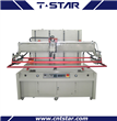 Vertical Groove Table Screen Printing Machine