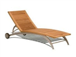 Folding Wooden Moon Beach Chair