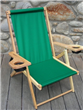 Antique Wooden Recliner Chair
