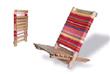 Hard Wood Beach Lounge Chair