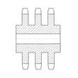 DIN Standard Triplex C Types