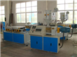 PE PVC Single Wall Corrugated Pipe Extrusion Line