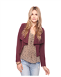 Crop Waterfall Blazer