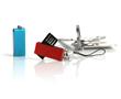 Multicolour Mini USB Flash Memory