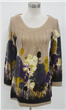 Printing Long Style Knit Autumn Clothing