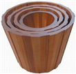 Big Wooden Flower Containers