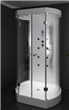 ABS Panel Glass Shower Cubicle
