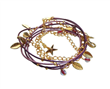 Ceramic Metal Fashion Jewelry Accessory