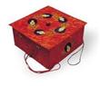 Golden Art Paper Gift Box