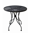 Black Iron Outdoor Furniture Table