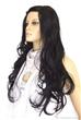 Women Black Long Hair Fashion Wigs
