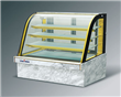 580W Mable Double Arc Glass Showcase