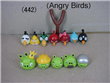PVC Angry Bird Displaying Figure