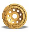 Diamond cup grinding wheels