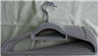 Non-slip slim hangers