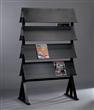 Metal Magazine Shelves
