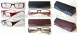 New Design Plastic Reading Glasses With Case