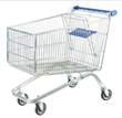 Double Layer Plastic Platform Trolley