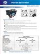 Potable generator