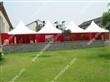 Small luxury wedding tent