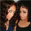 Celebrity lace wigs Medium brown, premium quality