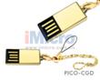 COB Water Proof Golden USB Flash Drive