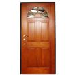 Stainless Steel Solid Wood Door